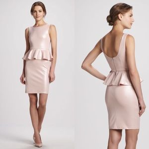 {Alice + Olivia} Tracey Sleeveless Peplum Dress